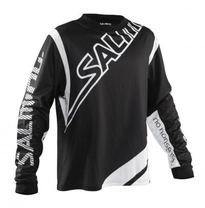 Salming Phoenix Goalie Jsy JR Black/White