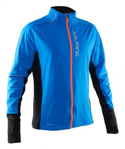 Salming Thermal Wind Jacket Men Electric Blue