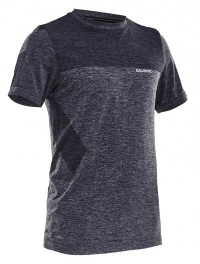 Salming Seamless Tee Men Dark Grey