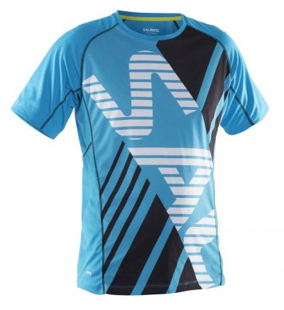 Salming SS Team Tee Cyan Blue
