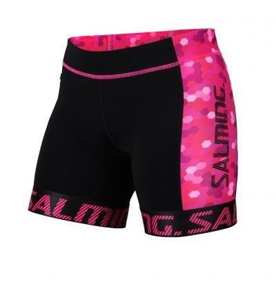Salming Triathlon Shorts Wmn Black/Pink