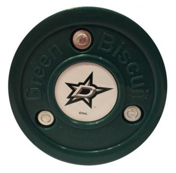 Puk Green Biscuit NHL Dallas Stars