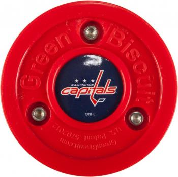 Puk Green Biscuit NHL Washington Capitals