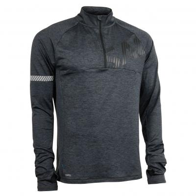 Salming Phase Halfzip Men Dark Grey Melange