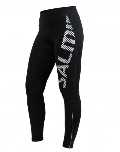 Salming Logo Tights 2.0 Women Black/Silver Reflective