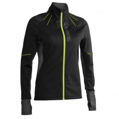 Salming Thermal Wind Jacket Women Black/Black Melange