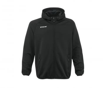 Mikina CCM Locker Room Full Zip Hood SR