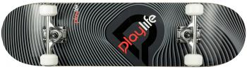 Skateboard Playlife Illusion Grey 31x8