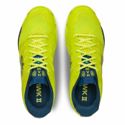 Salming Viper 5 Shoe Men Fluo Green/Navy