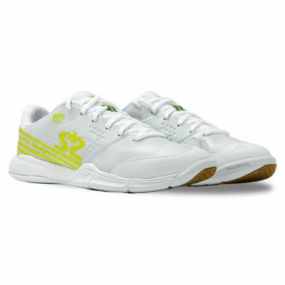 Salming Viper 5 Shoe Women White/Fluo Green