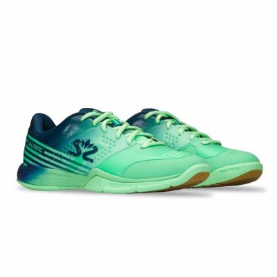 Salming Viper 5 Shoe Women Turquoise/Navy