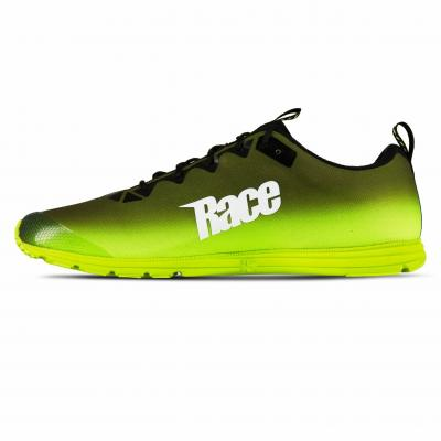 SALMING Race 7 Shoe Men Black/Safety Yellow