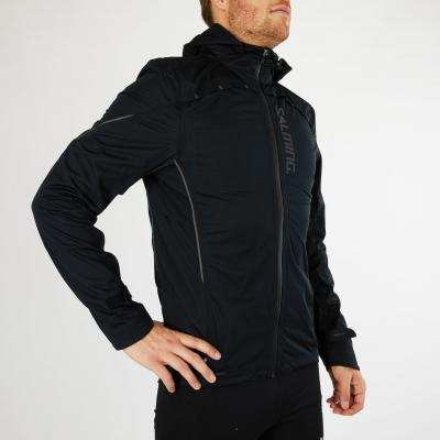 SALMING Run Abisko Rain Jacket Men Black
