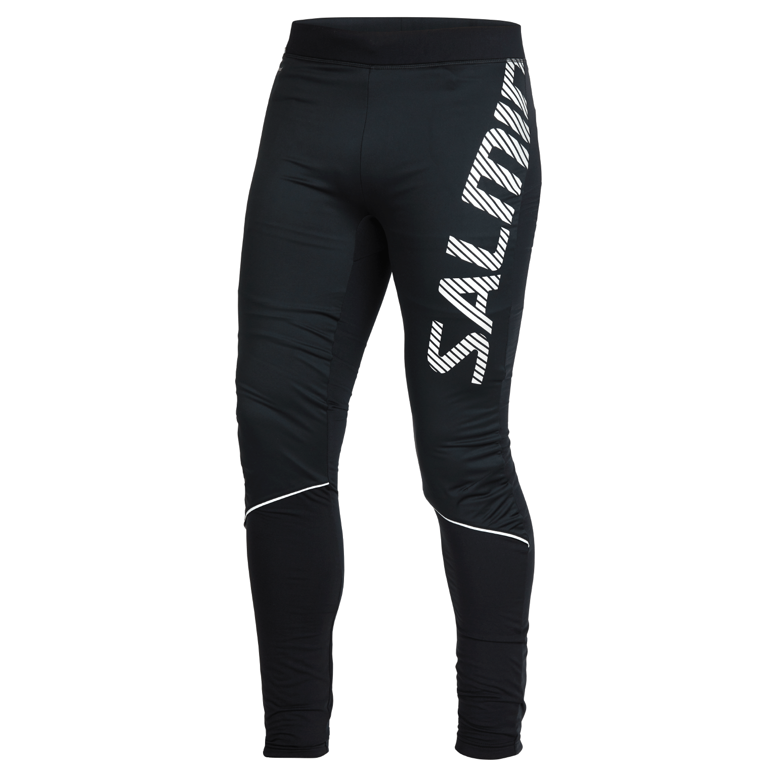 SALMING Run Thermal Wind Tights Men Black