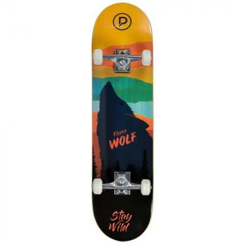 Skateboard Playlife Fierce Wolf 31x8